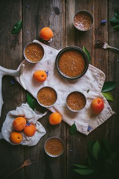 Salted Caramel and Apricot Pots de Creme | Adventures in Cooking by Eva Kosmas Flores on Flickr.