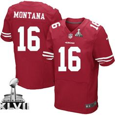 354c9cc2326 Joe Montana Elite Jersey-80%OFF Nike Super Bowl XLVII Joe Montana Elite  Jersey. 49ers ShopNfl ShopEric ReidNike ElitesSan Francisco ...