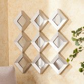 Found it at Wayfair - Wildon Home ® Hutton Decorative Mirrored Squares Wall Sculpture