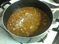 Five bean and Steak Chili