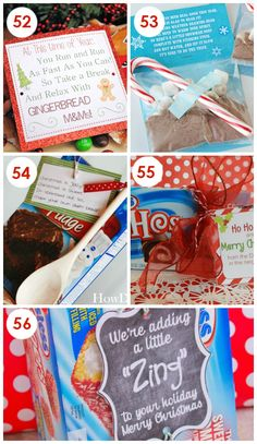 Super Easy, No-Bake Christmas Neighbor Gifts with FREE Printables!  I'm allllll about taking the stress outta Christmas.