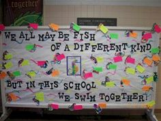 Back To School Bulletin Boards For Middle School