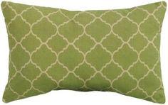 Pisa 19 Wide Outdoor Pillow - Home Decorators Collection