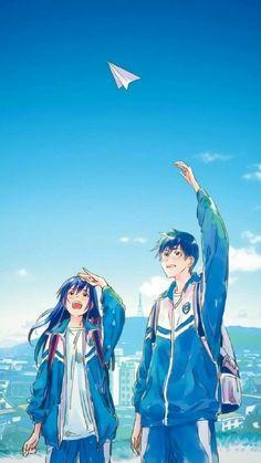 Read these moving romance stories on Anime Couple Love, Cute Couple Art, Manga Couple, Cute Anime Couples, Manga Anime, Manga Art, Anime Triste, Tamako Love Story, Anime Scenery Wallpaper