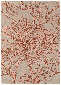 Teppich Wohnzimmer Carpet modernes Design HARLEQUIN ASTER BLUME RUG 100% Acryl 120x170 cm Rechteckig Beige | Teppiche günstig online kaufen https://www.amazon.de/dp/B017KNAMMU/ref=twister_B06XPPRG3L?_encoding=UTF8&psc=1