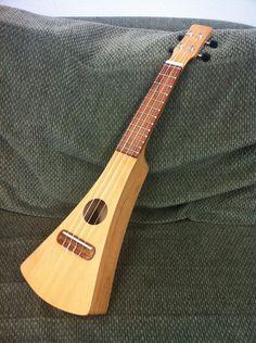 DIY backpacker's ukulele!  http://imgur.com/a/V4qxQ