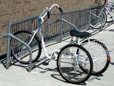 bike with three, older adults and disabled persons.