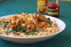 No Meat Zone Recipes: Vegan Moroccan Chickpea and Vegetable Stew Zone Recipes, Veggie Recipes, Vegetarian Recipes, Healthy Recipes, Veg Stew, Vegetable Stew, Chickpea Stew, Winter Food, Moroccan