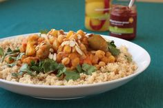 Winter recipe. Moroccan chickpea stew. #vegan #glutenfree (if not served with couscous)