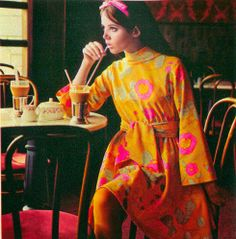 1960's fashion Colleen Corby