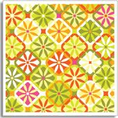 Jenean Morrison Fabric - Santa Barbara Orange