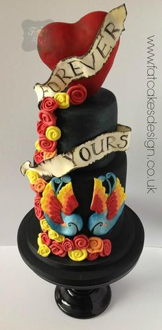 Forever Yours Cake
