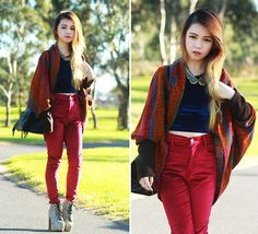 Velvets and 2 giveaways! (by Chloe T) http://lookbook.nu/look/3484347-Velvets-and-2-giveaways