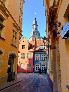 Sunny day in Riga