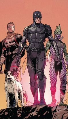 Inhumans by STEVE MCNIVEN