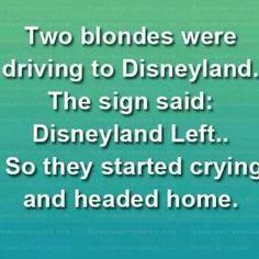 Blondes & Disney