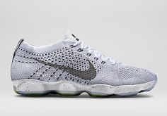 Nike 2015 Spring Flyknit Zoom Agility Collection: This spring, the Nike Flyknit Zoom Agility's appealing design silhouette will be manufactured in a Training Sneakers, Womens Training Shoes, Air Max Sneakers, Sneakers Nike, Nike Flyknit Racer, Nike Store, Workout Shoes, Discount Nikes, Nike Basketball Shoes