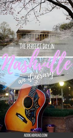 Nashville deserves more than one day, but sometimes you only have a little bit of time to dedicate to a place. So want to know what to do with only one day in Nashville? Here you go!