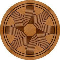 Wood, Stone and Vinyl Inlay Medallions and Marquetry Decoupage, Parquetry Floor, Installing Hardwood Floors, Art Deco Wallpaper, Wood Steel, Marble Mosaic, Floor Patterns, Wood Veneer, Pyrography
