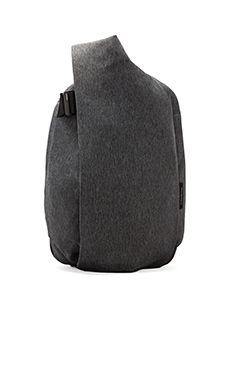 So Convenient and might save my current shoulder mom problems. Cote & Ciel Isar Rucksack in Black Melange