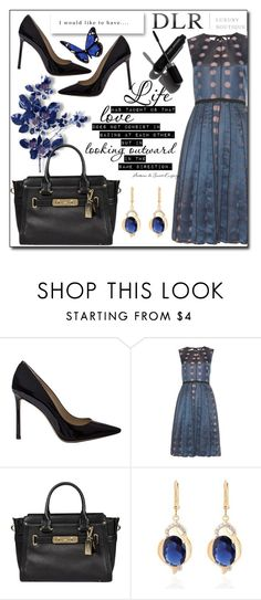 """DLR -Luxury Boutique"" by tanja133 ❤ liked on Polyvore featuring Jimmy Choo, Marc Jacobs, Coach and Garance Doré"