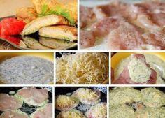 Куриные отбивные с сыром.   Шедевры кулинарии