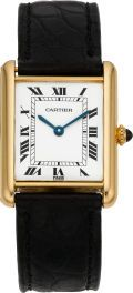 Cartier Gold Tank Wristwatch, circa 1980. ... TimepiecesWristwatch | Lot #61048 | Heritage Auctions ~ Buy Now!