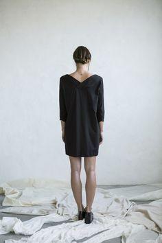 Minimal dress organic cotton