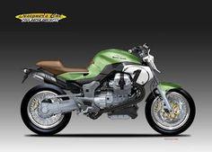 "DESIGNER'S CUT  Cafè Racer Projects: MOTO GUZZI V12 ""STREETRACER"""