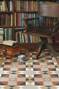 The traditional style Rochester pattern will make a statement in hallways, living rooms, bathrooms, kitchens - wherever they are used! New colours, patterns and shapes means our geometric Victorian style floor tiles look great in traditional and contemporary homes. originalstyle.com