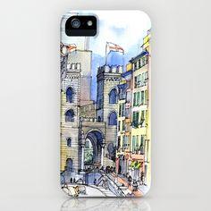 Porta Soprana iPhone & iPod Case by Luca Massone (architect And Artist)  - $35.00
