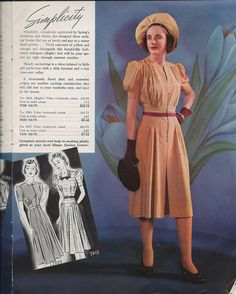 Spring/Summer 1939 New Fashions for You and Your Home