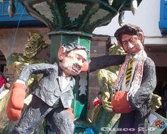 Desfile alegorías Cusco 2013