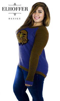 Eagle Raglan Sweater