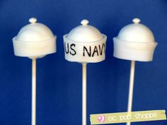 cake pops for Conor's going away party perhaps ?????