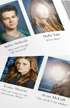 Teen Wolf year book