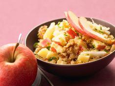 Taboulé aux pommes, facile et pas cher