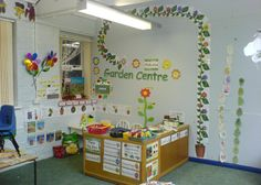 Garden Centre role-play area classroom display photo - Photo gallery - SparkleBox Need to create something like this! School Displays, Classroom Displays, Play Based Learning, Learning Spaces, Kids Gardening Set, Preschool Garden, Role Play Areas, Dramatic Play Centers, Dramatic Arts