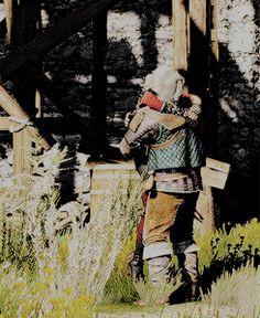 Ciri x Vesemir Yennefer Witcher, Geralt And Ciri, Witcher Art, The Witcher Game, The Witcher Books, Triss Merigold, Vampire Masquerade, Cyberpunk 2077, Wild Hunt