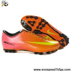 Fashion Orange Pink Yellow Nike Mercurial Vapor IX AG Latest Now