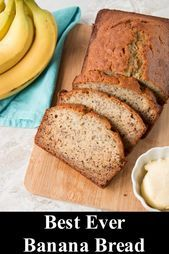 This is the easiest and most delicious banana bread you'll ever make! It's moist loaded with banana flavor and only takes 10 minutes to prepare. Banana Bread With Oil, Banana Bread French Toast, Easy Banana Bread, Crockpot Recipes, Vegan Recipes, Cooking Recipes, Cooking Tips, Ripped Recipes, Protein Bread