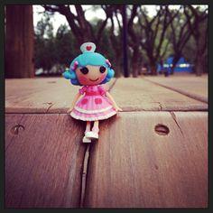 Rose at the park!!! #lalaloopsy #park