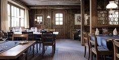 Hotel Dieschen, 7078 Lenzerheide - Zimmer Places To Eat, Great Places, Restaurants, Conference Room, Table, Furniture, Home Decor, Environment, Fine Dining
