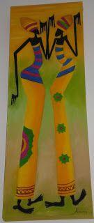 Las Pinturas de Ana: AFRICANAS