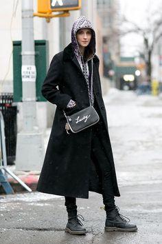 紐約時裝周場外:最精彩的模特兒 Off-Duty 街拍特輯!