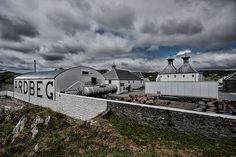 Ardbeg Distillery in Islay, Scotland