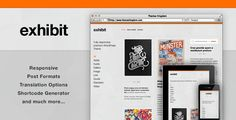 ThemeForest – Exhibit – Responsive WordPress Theme » Nulled Scripts, php, WSOs - NulledShare.com