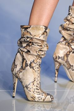 Blumarine at Milan Fashion Week Fall 2010 - Details Runway Photos