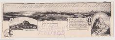 505 079 Gruss Vom Hohentwiel Panorama Klapp AK GL1903 | eBay