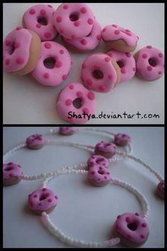 Fimo Donuts by ~Shatya on deviantART